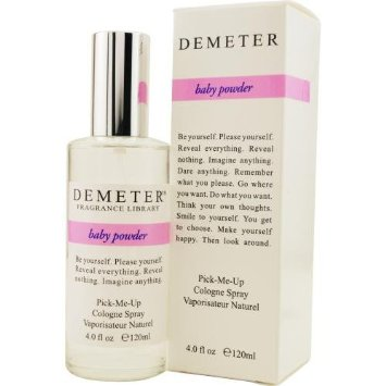 demeter baby powder perfume