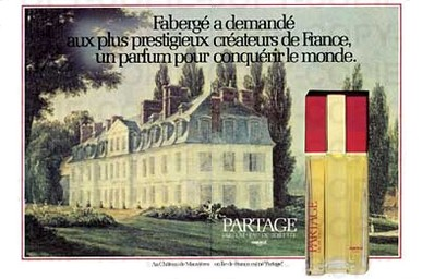partage by faberge perfume review 1