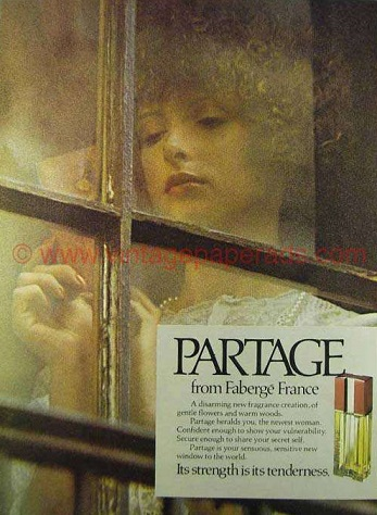 partage by faberge perfume review
