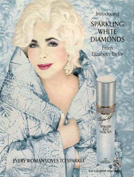 sparkling white diamonds by elizabeth taylor perfume review 1