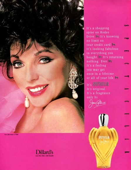 spectacular by joan collins perfume review
