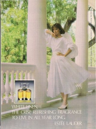 white linen by estee lauder perfume review
