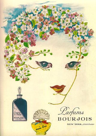 xanti schawinsky art for bourjois paris perfumes 1