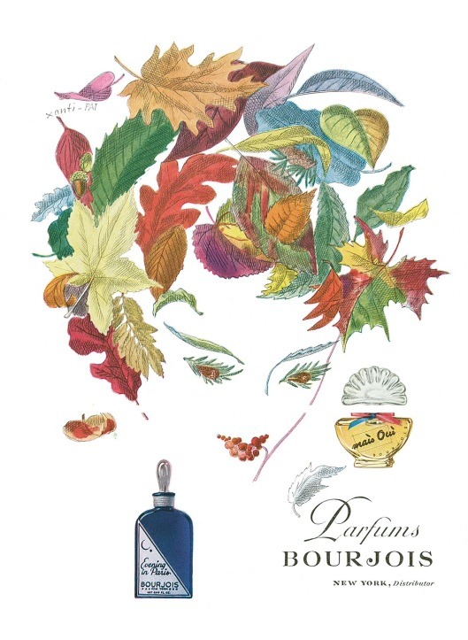 xanti schawinsky art for bourjois paris perfumes